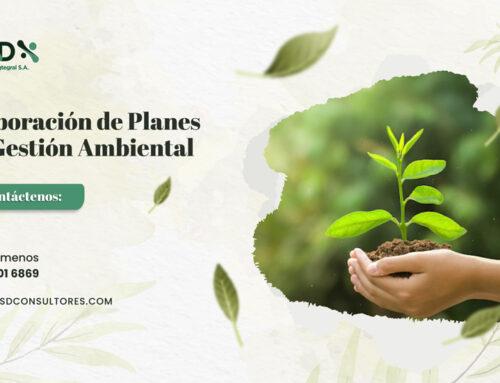 Elaboración de Planes de Gestión Ambiental