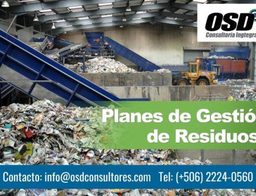 Planes de Gestión de Residuos