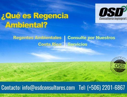 Regencia Ambiental en Costa Rica